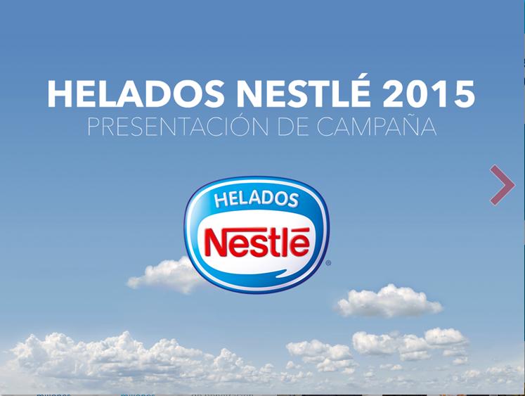 Presentación Canal Retail de Helados Nestlé