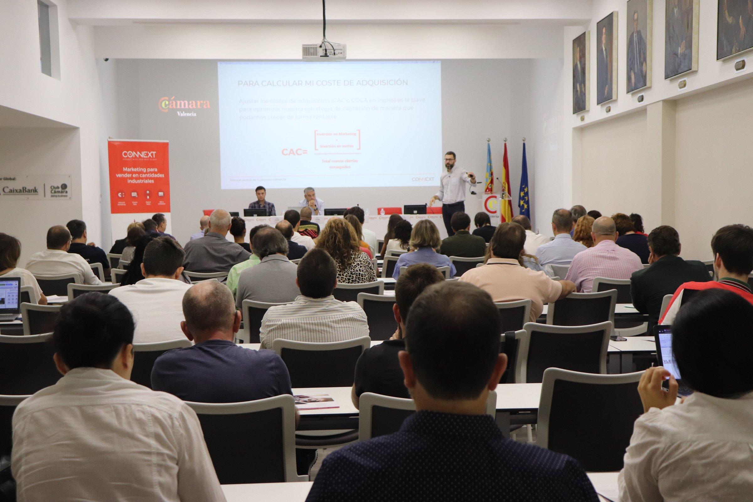 Connext en Cámara Valencia: Jornada Ventas 4.0