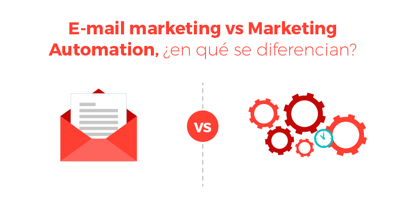 E-mail marketing vs Marketing Automation, ¿en qué se diferencian?