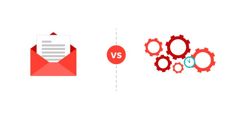 diferencias entre email marketing y marketing automation