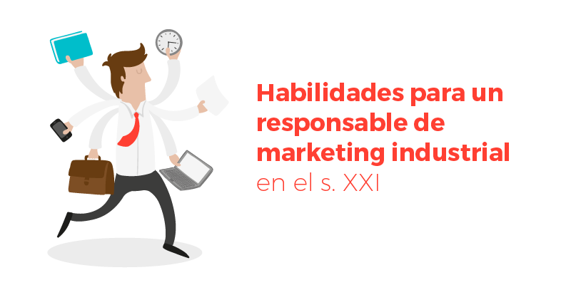 habilidades responsable de marketing industrial