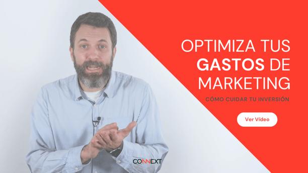 optimiza gastos marketing